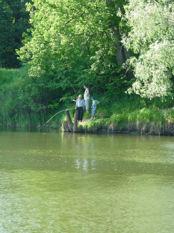 рыбалка в городе кургане