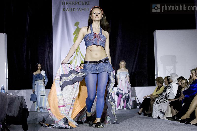 фоторепортаж модели мода дизайнеры fashion  Печерские каштаны 2010. Финал. Часть первая