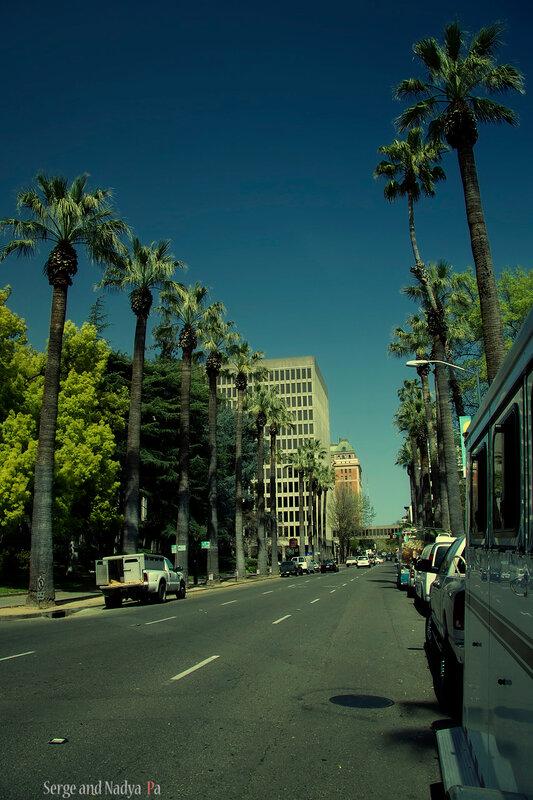 10-я стрит, Сакраменто, Калифорния.