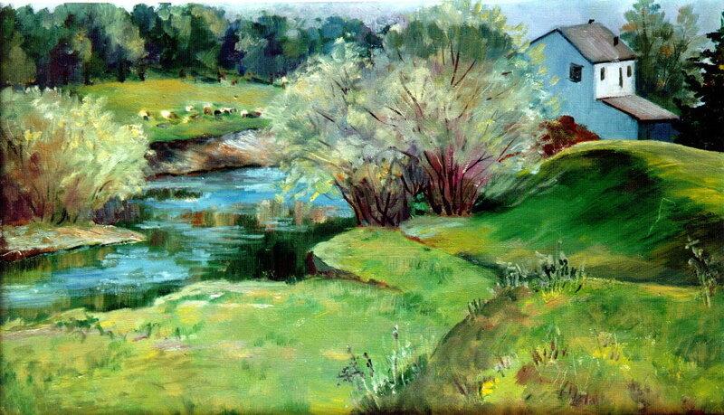 Весна на Лебяжке