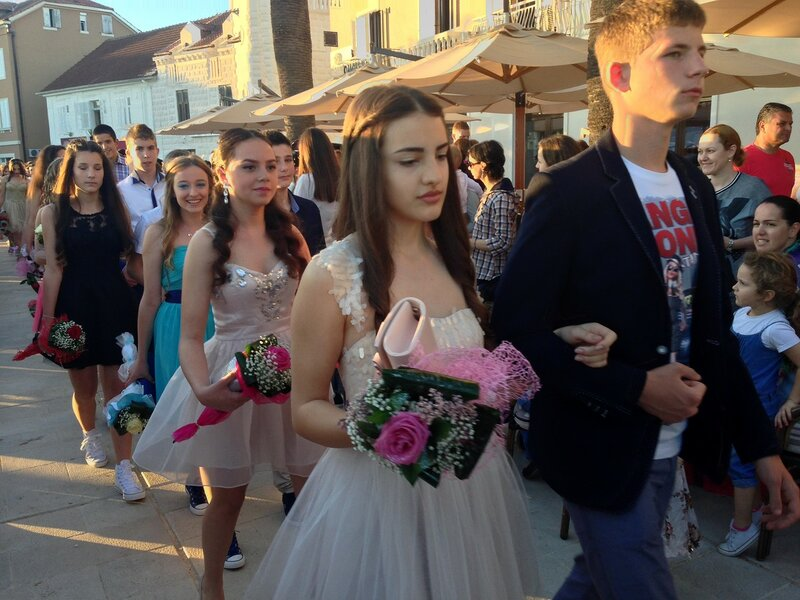 выпускной в Черногории