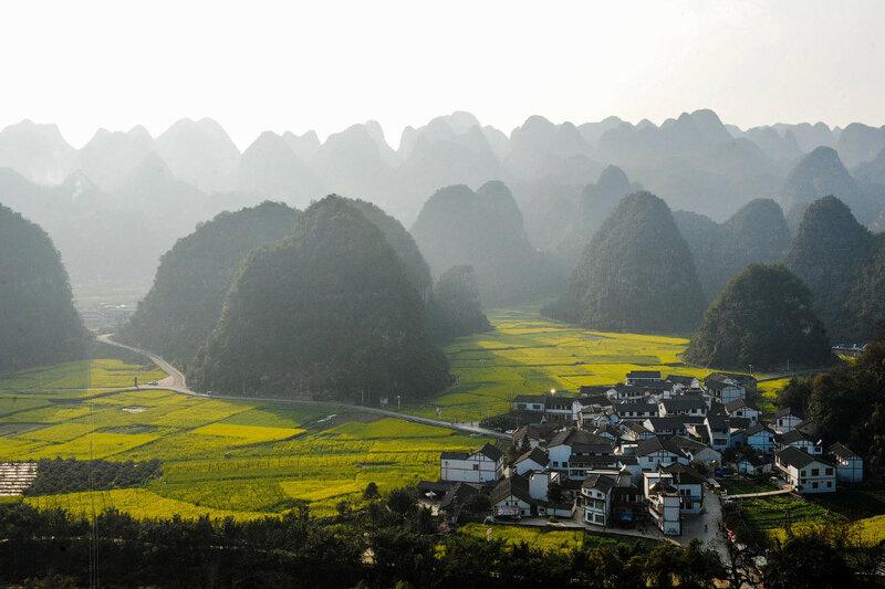 Китай с высоты. Красивые и необычные фотографии