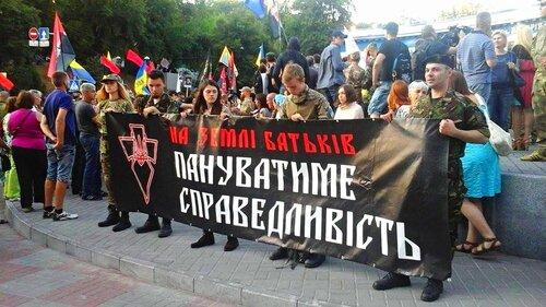 добровольческие батальоны в центре киева