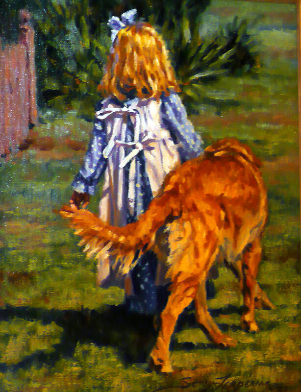 Американская художница Sonya Terpening