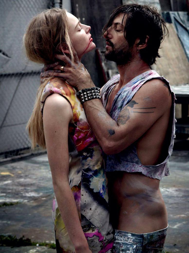 Тони Уорд и Ева Лагуна / Ieva Laguna and Tony Ward by Will Davidson