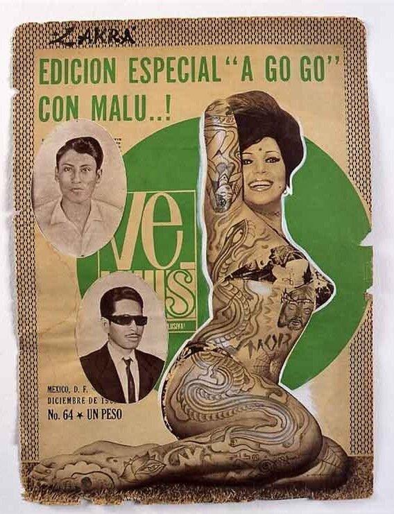Мексиканский художник-татуировщик Д-р Лакра