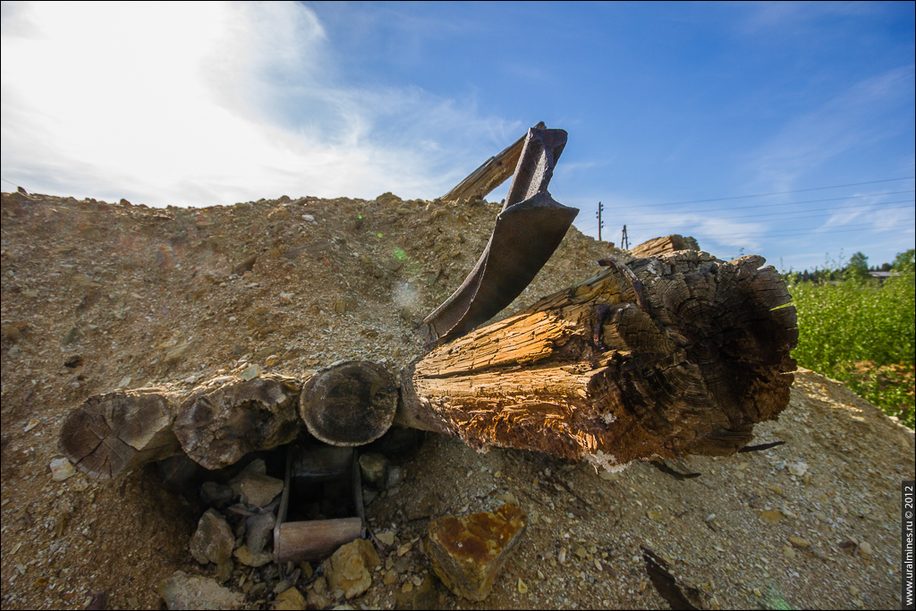 Карпушихинский серномедный рудник