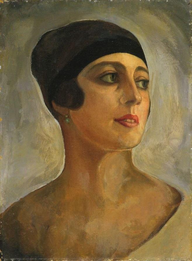 Вера Стравинская.(Судейкина Боссе) ок.1920.Судейкин Сергей Юрьевич.(1882-1946);