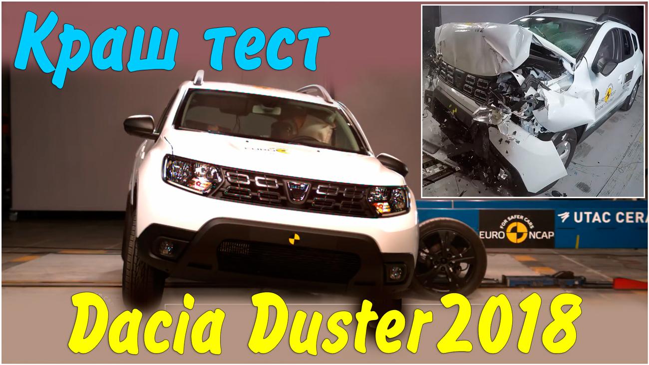 Краш тест Dacia Duster 2018