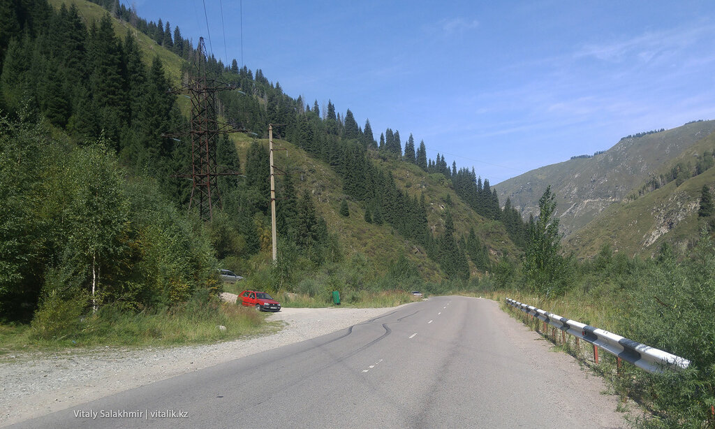 Угол наклона дороги на БАО.