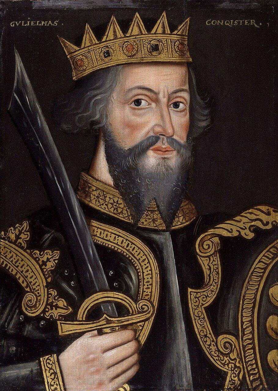 Вильгельм I Завоеватель -King_William_I_('The_Conqueror')_from_NPG