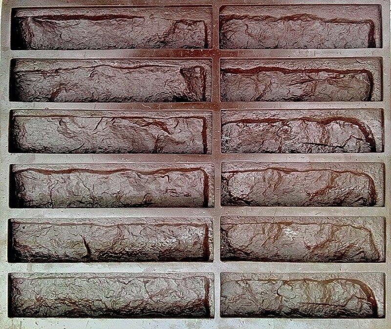 форма для изготовления камня Сиена