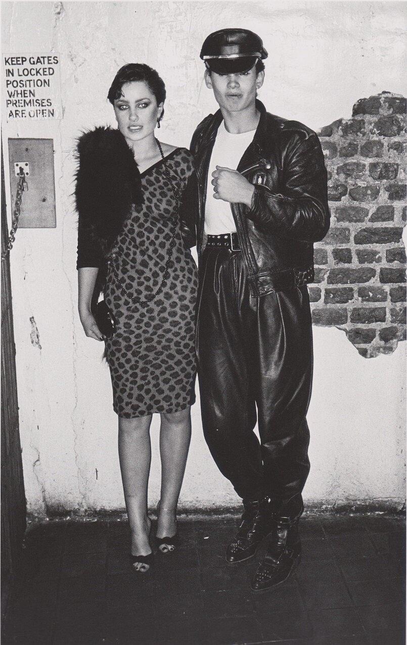 1979. Кристина и Питер в клубе «Blitz»