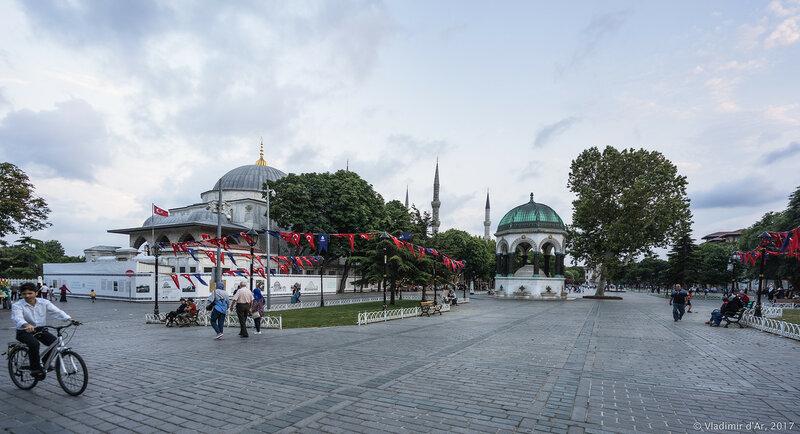 Немецкий фонтан. Площадь Ипподром. Стамбул.