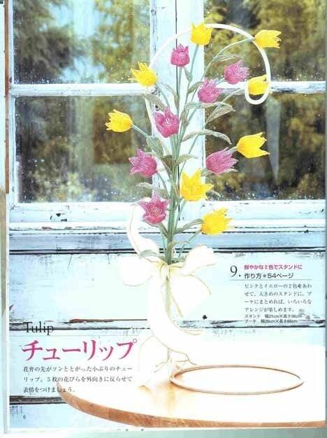 бисероплетение цветы.
