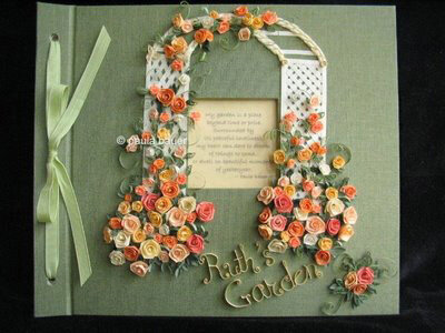 Розы Паули Бауэр вышивание атласными лентами