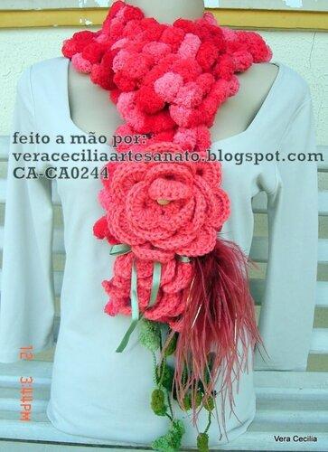 Необычные шарфы-украшения