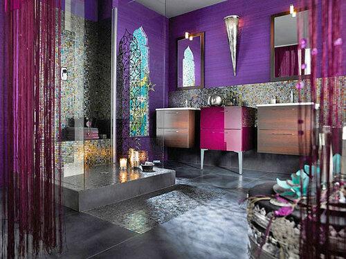индийская ванная комната интерьер