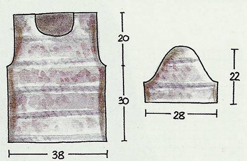 маечка с коротким рукавом спицами