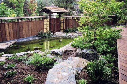 как создать японский сад