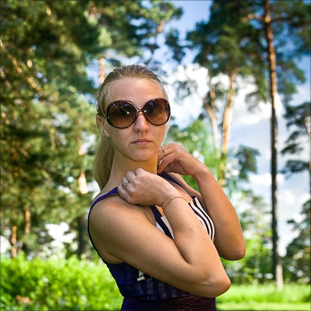 На фото: Красивая девушка Ира. Фотограф Кирилл Кузьмин