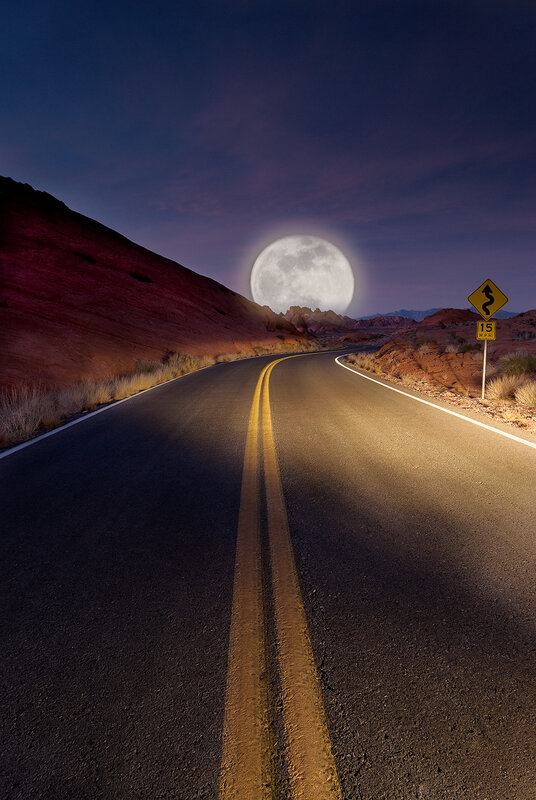 Moon Road by digit Al