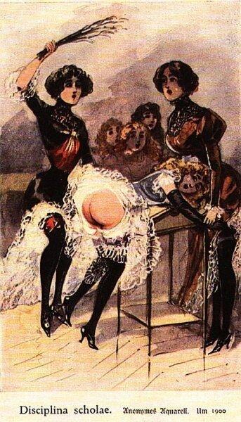 рассказы о наказаниях девочек