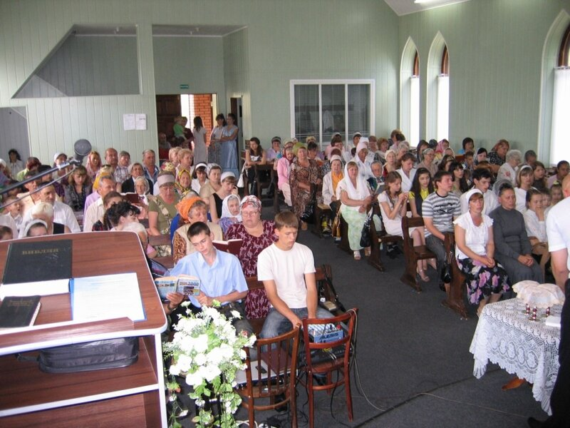 2010. Церковь ЕХБ г. Антрацит