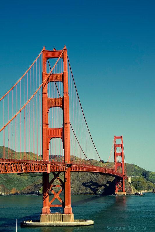 Мост «Золотые Ворота» (Golden Gate Bridge)