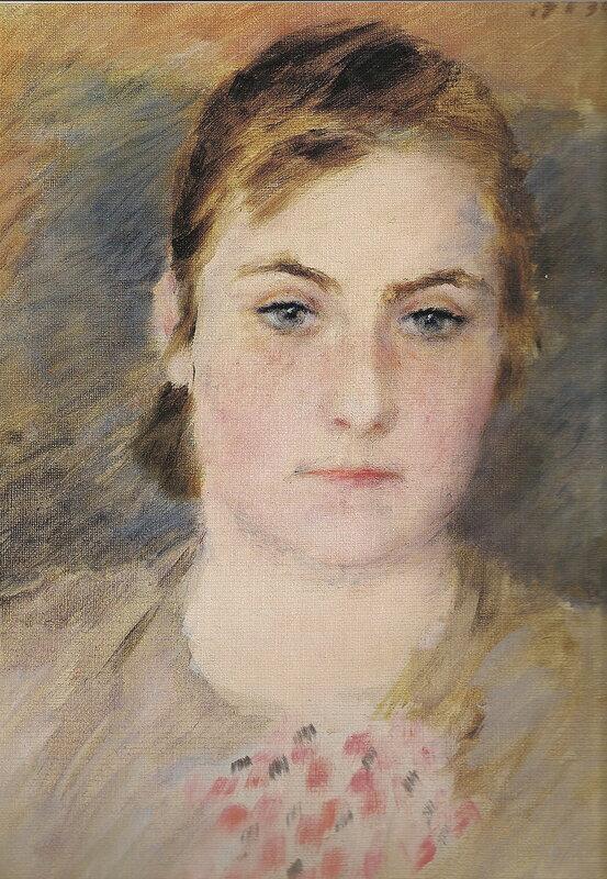 портрет С.Д. Лебедевой