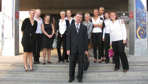 Студенты факультета, помогавшие на Форуме