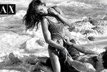 Ирина Шейк / Irina Sheyk в рекламной кампании Armani Exchange