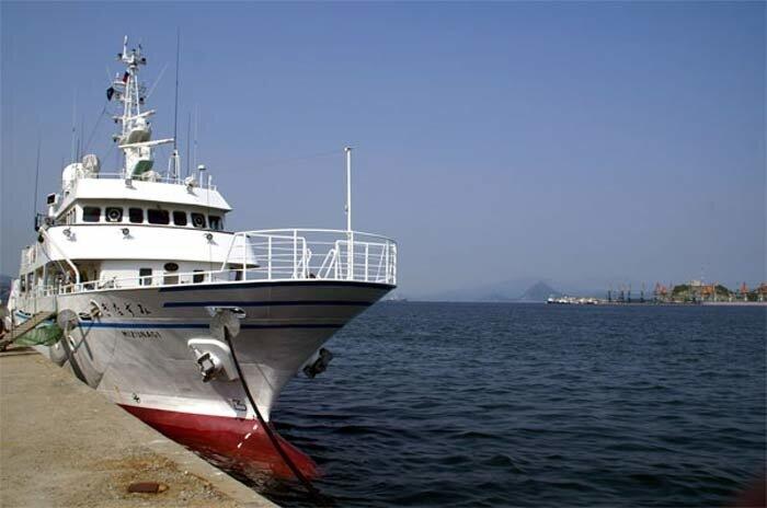 японский корабль