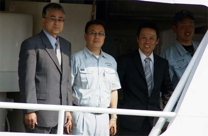 делегация из Японии