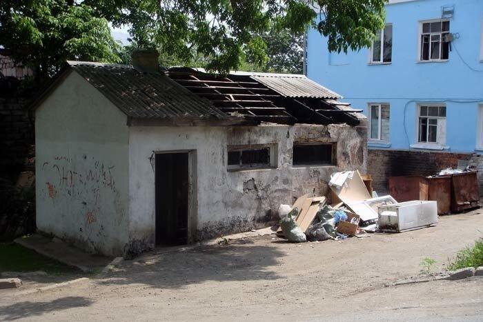 Владивосток, общественный туалет