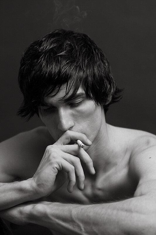 сет с сигаретой,автор sad_ie