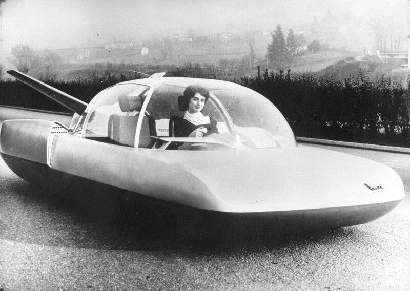 Шоу-модель автомобиля, сделаная французским производителем автомобилей Simca, 1958 год.jpg