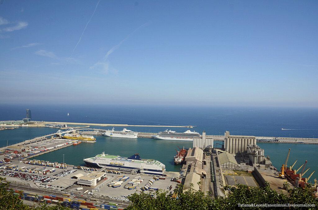 Торговый порт Барселоны