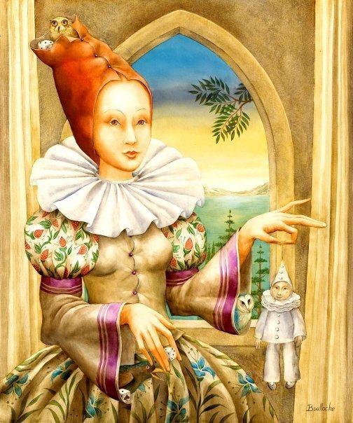 Игривые фантасмагории Агнес Буллош / Agnes Boulloche. 36 работ