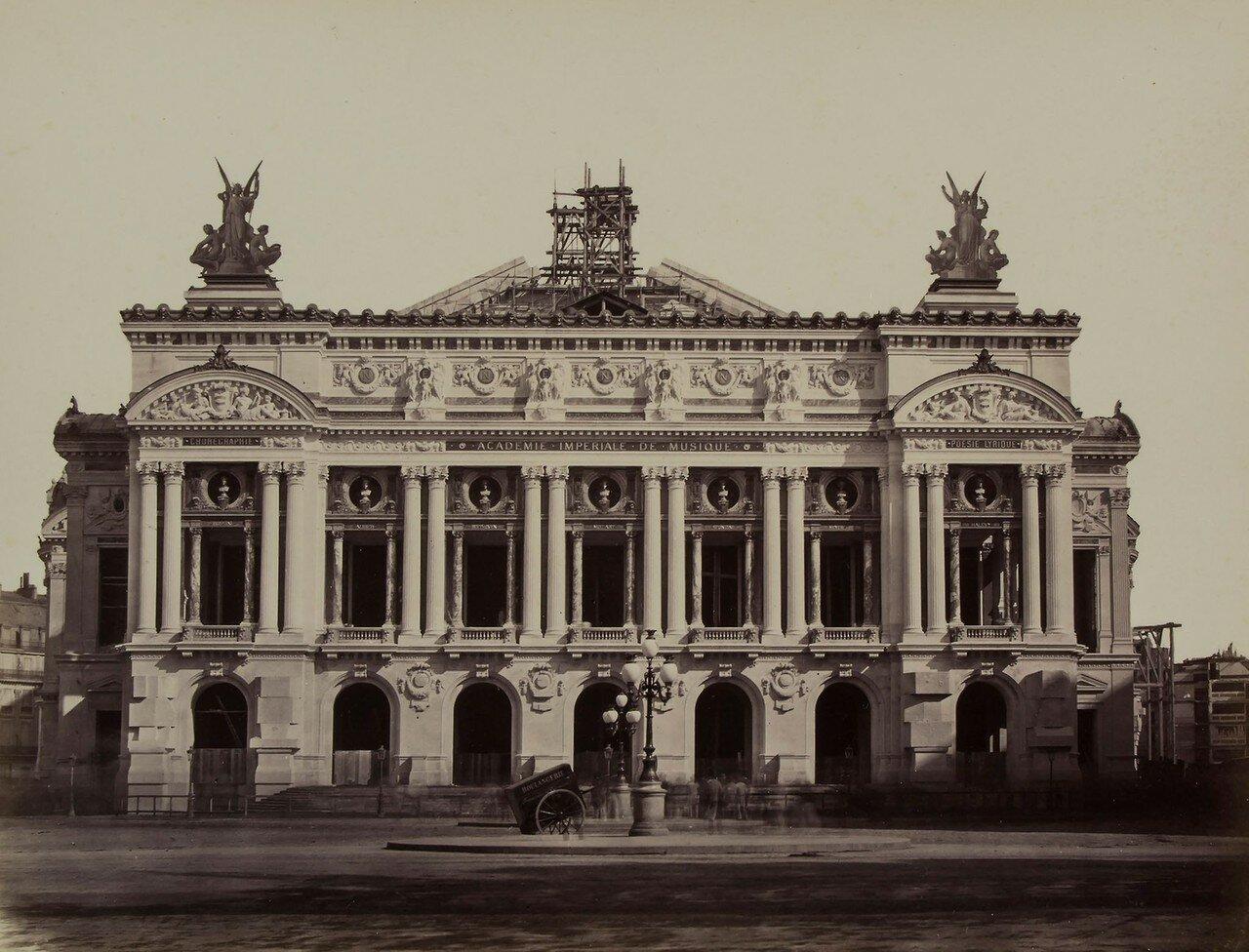 1867.  Строительство Парижской Оперы