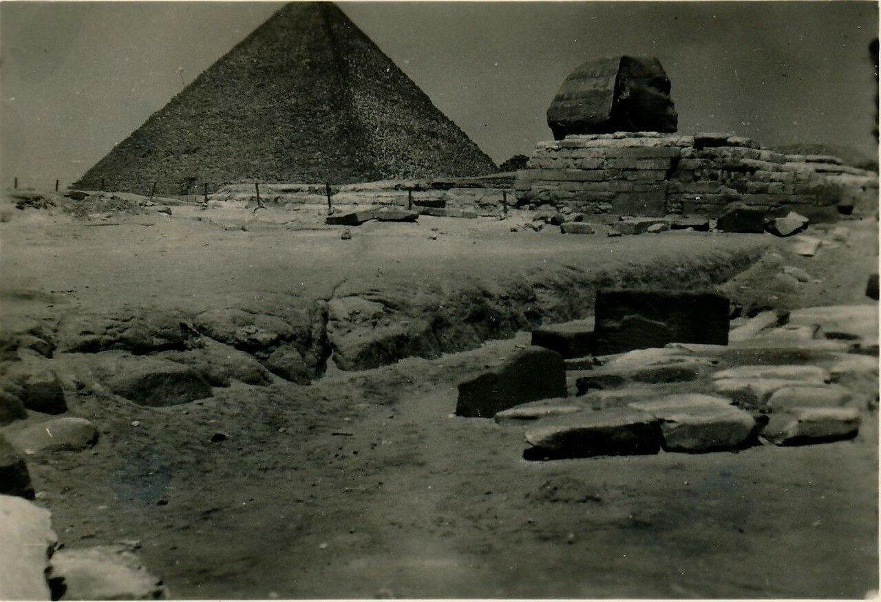 Гиза. Пирамиды. 1920