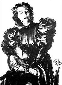 Анна Марли (портрет)