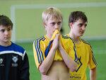 Автор гола в матче за 3-е место Никита Калашников с партнерами
