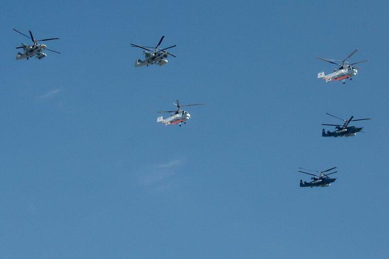 Вертолёты Камова