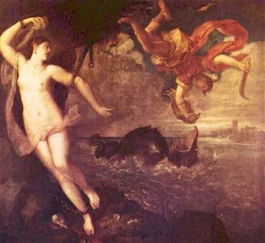 Тициан Вечеллио, Персей и Андромеда