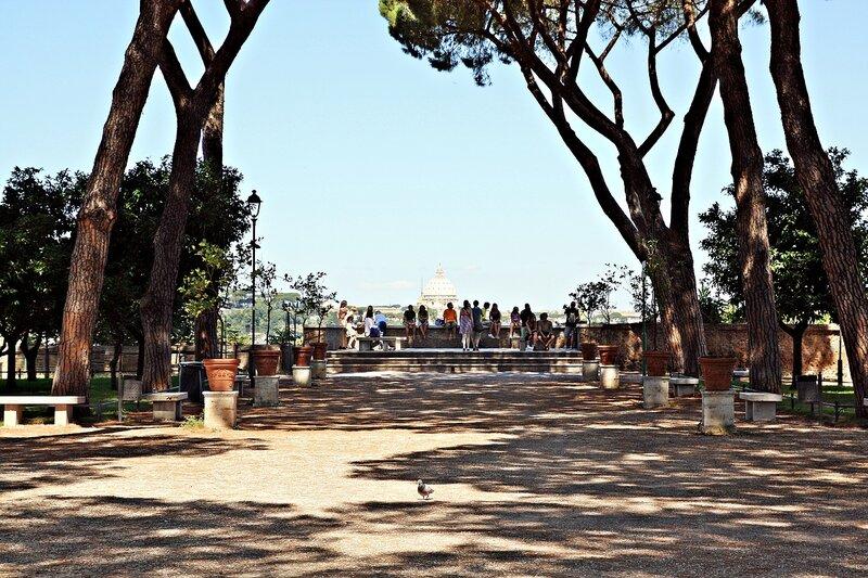 Парк Савелло возле церкви Святой Сабины