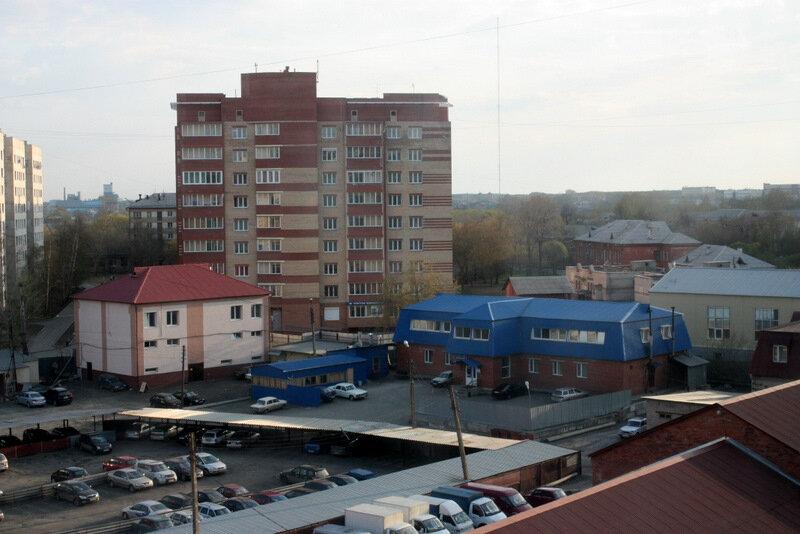 Челябинск, Советский район, Доватора 24Б, жилой многоэтажный дом, промзона, Русская баня