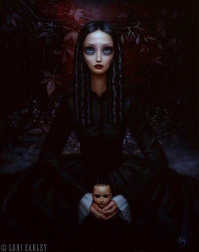 Художница-сюрреалист Lory Earley