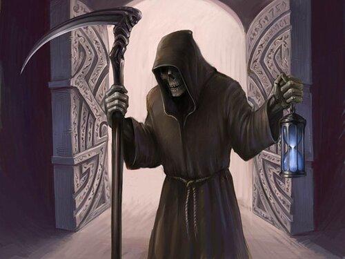 Морро, дух Смерти, астральный Мир Дапан