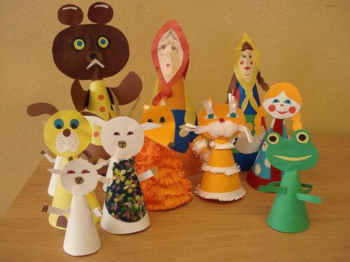 Трифонова нм кукольный театр своими руками